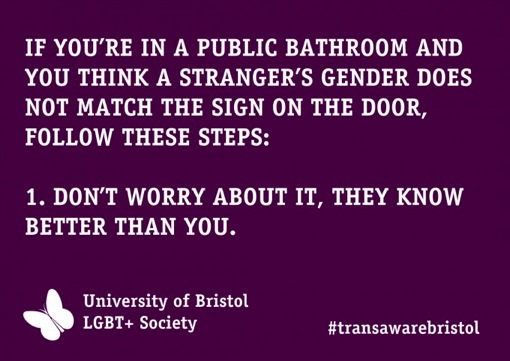 Via University of Bristol LGBT+ Society, lgbtplusbristol.org.uk
